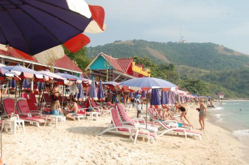 Beach in front of Xanadu Resort