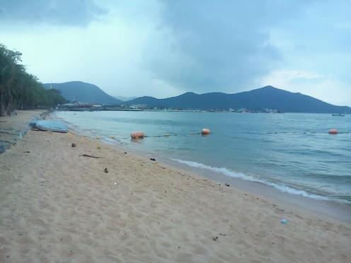 The beach at Bang Saray