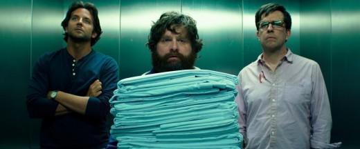 Bradley Cooper, Zach Galifianakis, and Ed Helms return to Vegas