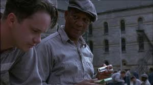 Morgan Freeman starred alongside Tim Robbins in this adaptation of the Stephen King book called Shawshank Redemption.