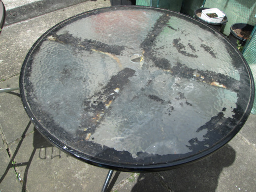 How to Make a Mosaic Table  Top Design