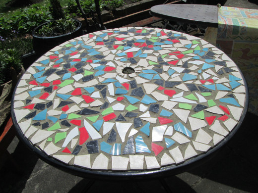 How to design mosaic table top with ceramic tiles hubpages for How to draw mosaic patterns