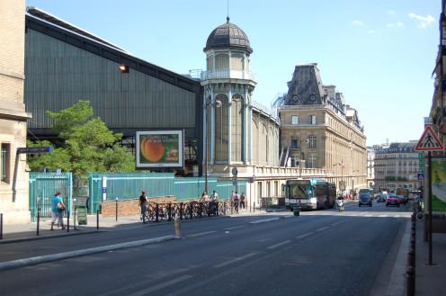 Saint-Lazare Station, rue de Rome, Paris