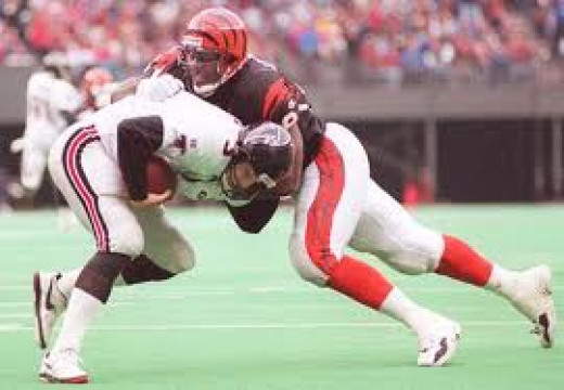 Jevon Langford was a starting defensive end for six years with the Cincinnati Bengals. He also tossed his hat into the ring and tried pro boxing for a short stint.