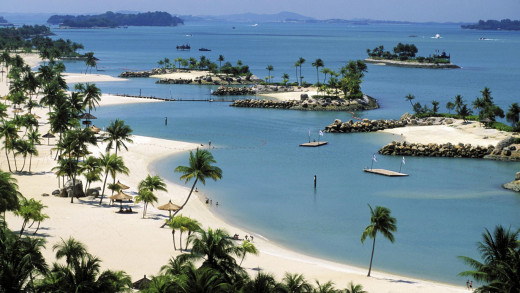 Sentosa Island is a magical place, a luxury island within a cosmopolitan city.