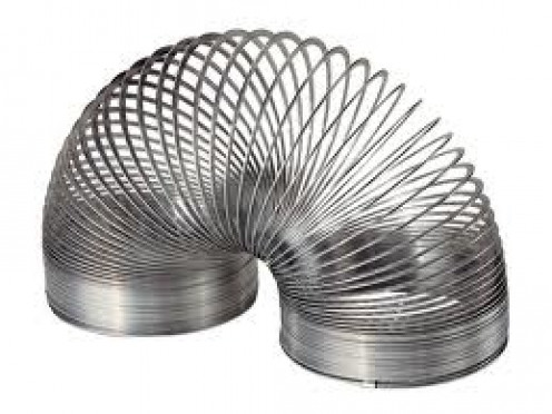Slinky was one of the most popular toys of the 1940s and it has sold for decades.