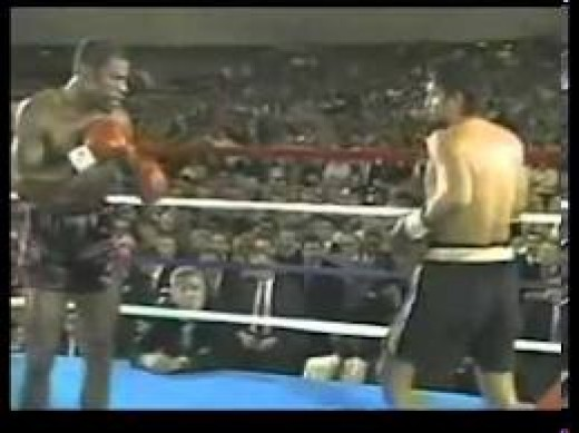 "Roberto Duran bested Iran"" The Blade"" Barkley over 12 rounds for the middleweight championship."
