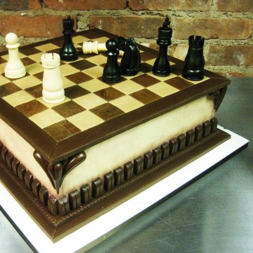 Hobbies Themed Grooms' Cake