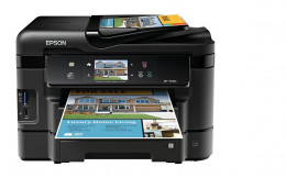 Epson WorkForce WF-3540 Wireless All-in-One Color Inkjet Printer, Copier, Scanner