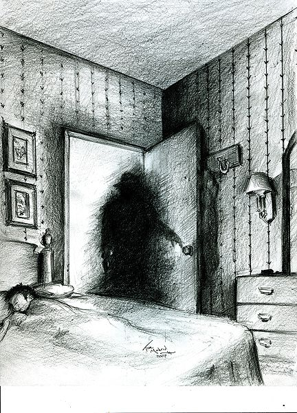 Is it a shadow man who causes sleep paralysis?