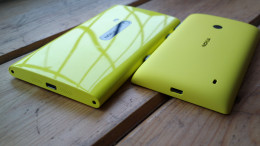 Lumias side by side
