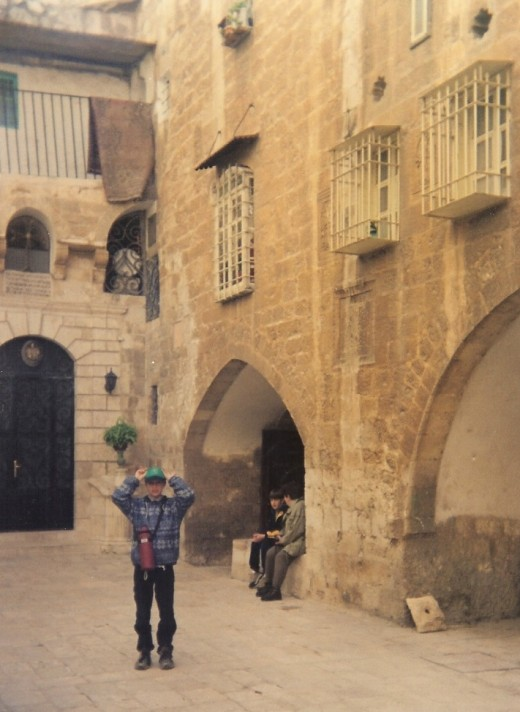 In Armenian Quarter