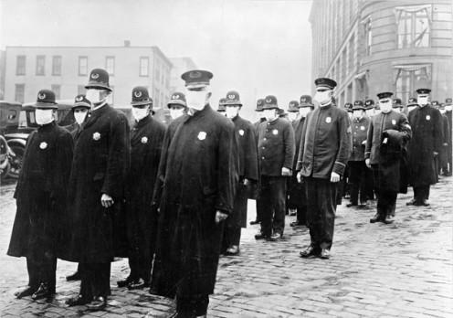 1918 Seattle Policemen. (US-PD)