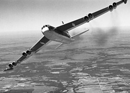 """The mighty """"BUFF"""", the B-52 Stratofortress"""