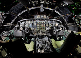 B-36J flight deck
