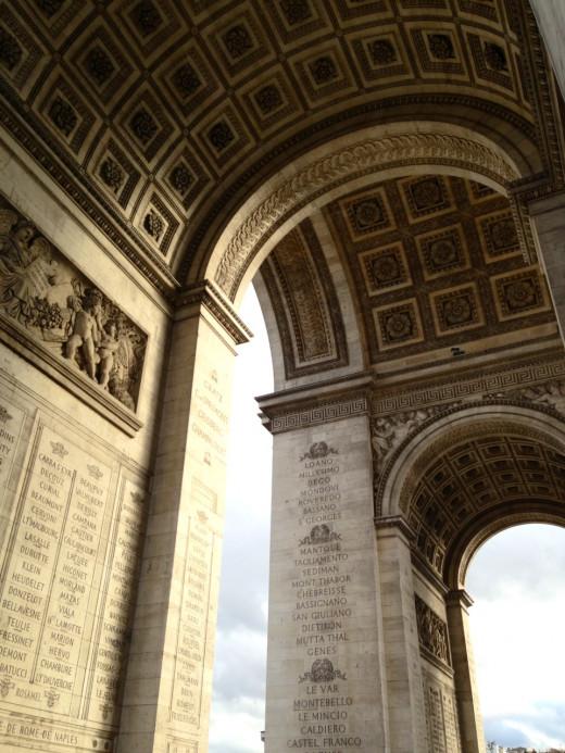 Arc de Triomphe (Arch of the Triumph)  copyright REK