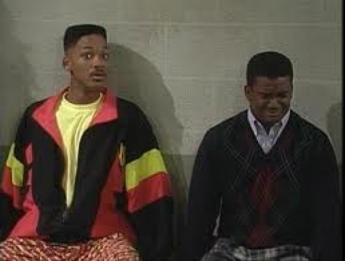 Will and Carlton were full of laughter and constantly let the comedy flow in, The Fresh Prince of Bel- Air.