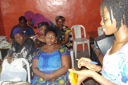 DevA Solar Training at the Agege centre, 2010