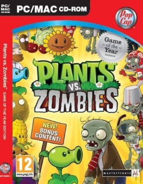 Plants Vs. Zombies  PC game cover