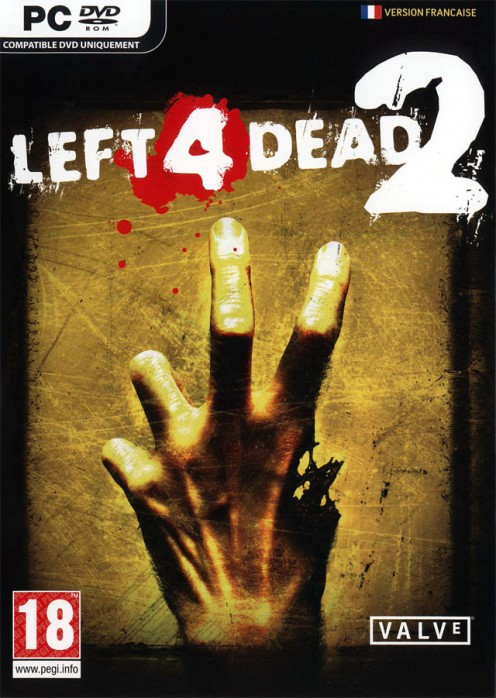 Left 4 Dead 2 PC game cover