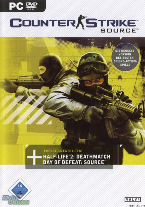 Counter Strike Source PC game cover