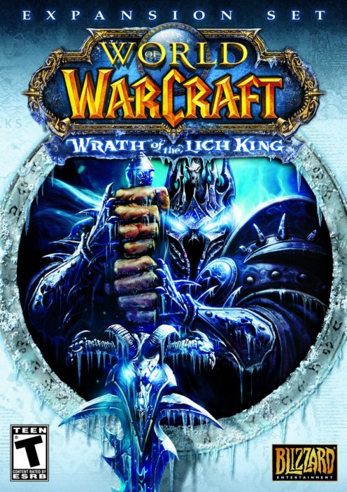 World of Warcraft 3 PC game cover