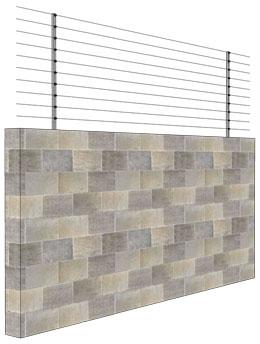 Brick/Stone wall installation