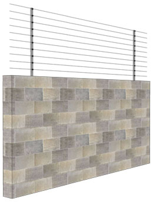 Brick/Stone wall installation