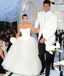 Kim Kardashian's Wedding is now only a memory