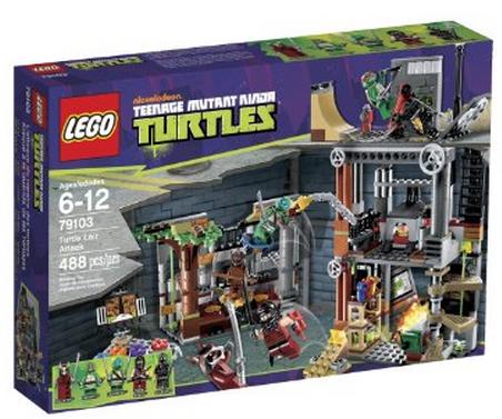 LEGO Ninja Turtles Turtle Lair Attack