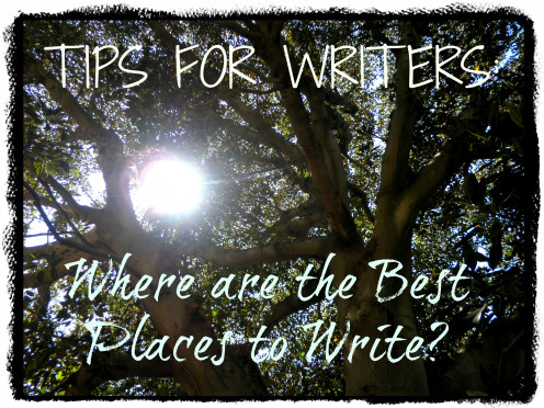 Ideas and tips for writers looking for the best places to write.