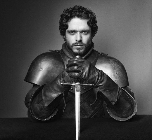 Robb Stark as played by Richard Madden