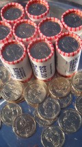 Adventures in coin roll hunting