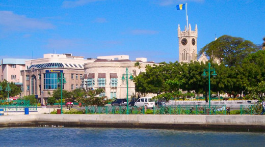 Parliament Buildings in Bridgetown