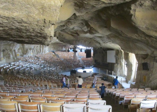 Cave Cathedral made by Coptic Christians