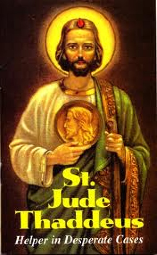 Saint Jude the Apostle has been documented throughout time by Biblical scholars as well as on television for ducumentaries.