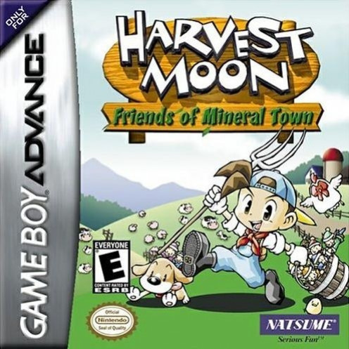 Harvest Moon: Friends of Mineral Town game cover