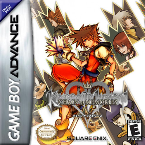 Kingdom Hearts: Chain of Memories game cover
