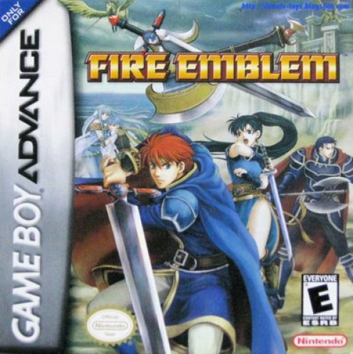 Fire Emblem game cover