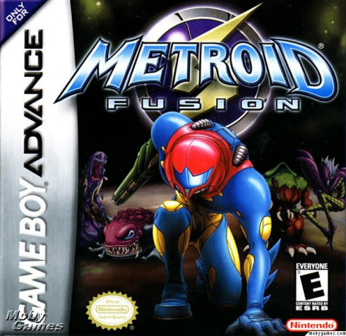 Metroid Fusion game cover
