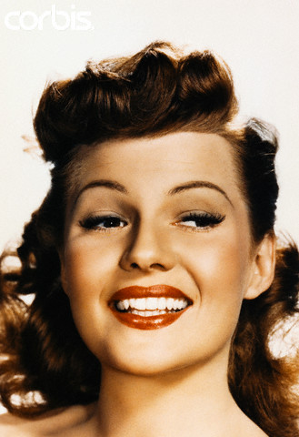 Pin Curls and Victory Rolls were a huge part in women's hair style in the 1940's.