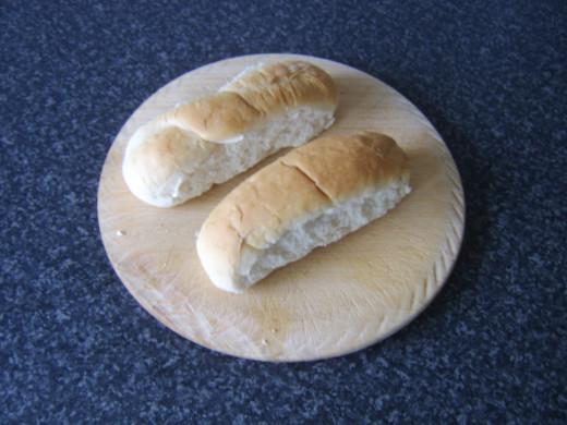 Mini sub rolls