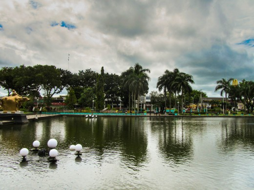 The Lagoon in the Negros Occidental Capitol Park