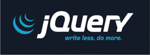 jQuery logo. Credit: jQuery.com
