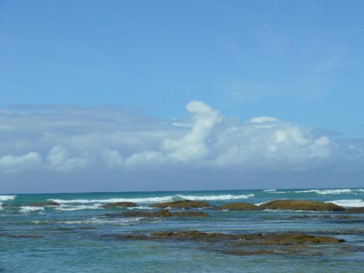 View of Indian Ocean