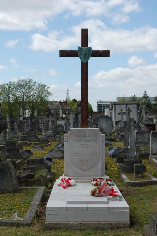 Krystyna Skarbek's Grave.