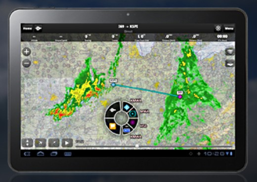 iPad apps for flying are becoming more comprehensive and widely used
