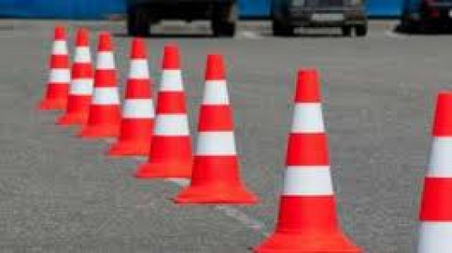 Use items such as driving cones in order to practice your driving skills before hitting the road.