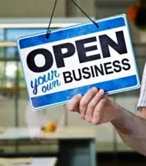 With proper advertising and hard work anyone can start up a successful small business.