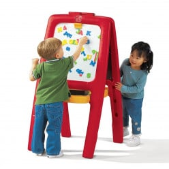 Product Review: The Step2 Easel for Two with Bonus Magnetic Letters and Numbers
